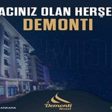 Ankara Demonti otel asansör projemiz